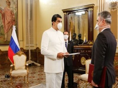 Russian Ambassador Presents Credentials to Venezuelan President