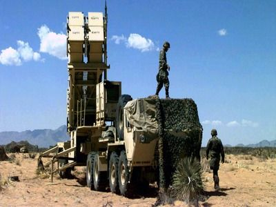 United States Began Deploying Patriot Air Defense Systems at a Military Base in Iraq