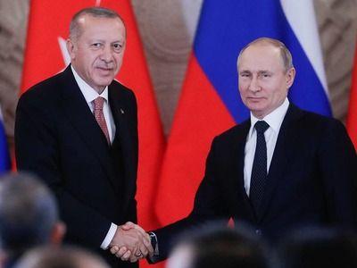 Путин провёл телефонный разговор с Эрдоганом