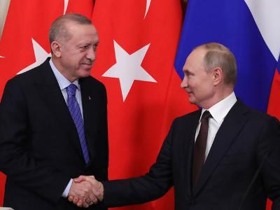 Putin and Erdogan Discussed the Situation in Idlib