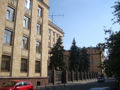 Czech Foreign Ministry Protests in Connection with the Action in Front of the Embassy in Moscow