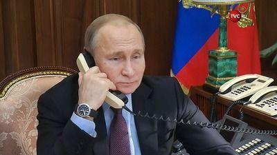 Putin Discusses International Efforts against Coronavirus with Ethiopian Prime Minister