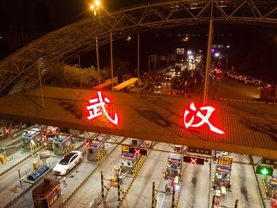 Chinese Authorities Open Exit from Wuhan for the First Time since January