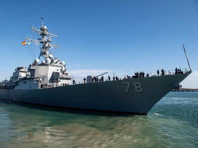 American Destroyer Heads to the Black Sea