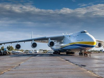 The Largest Airplane in the World Delivered Tons of Protective Equipment to Warsaw