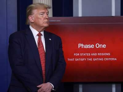 Trump Said 29 States Will Soon Begin to Lift Restrictions Imposed because of the Epidemic