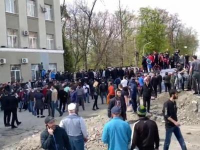 Residents of Vladikavkaz Are Protesting against Quarantine Isolation