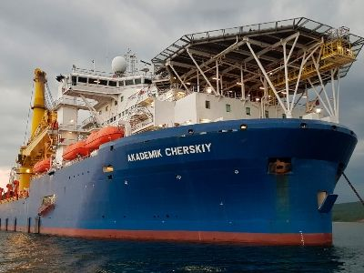 A Vessel Capable to Complete Nord Stream 2 Headed to Egypt