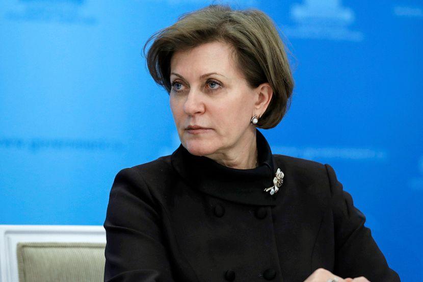 Попова заявила о снижении темпов прироста заболевших коронавирусом в России