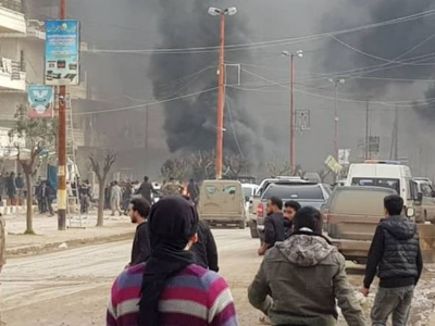 In Syria, 20 People Died in an Explosion