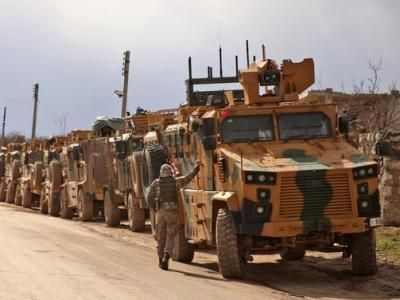 Turkish Military Attack Terrorists in Syria