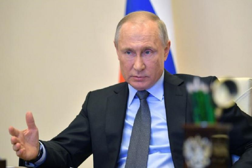 Путин поздравил россиян с 75-летием Победы