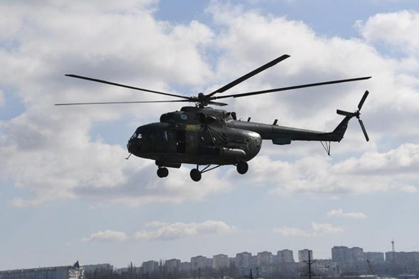 Military Helicopter Made a Hard Landing in Chukotka