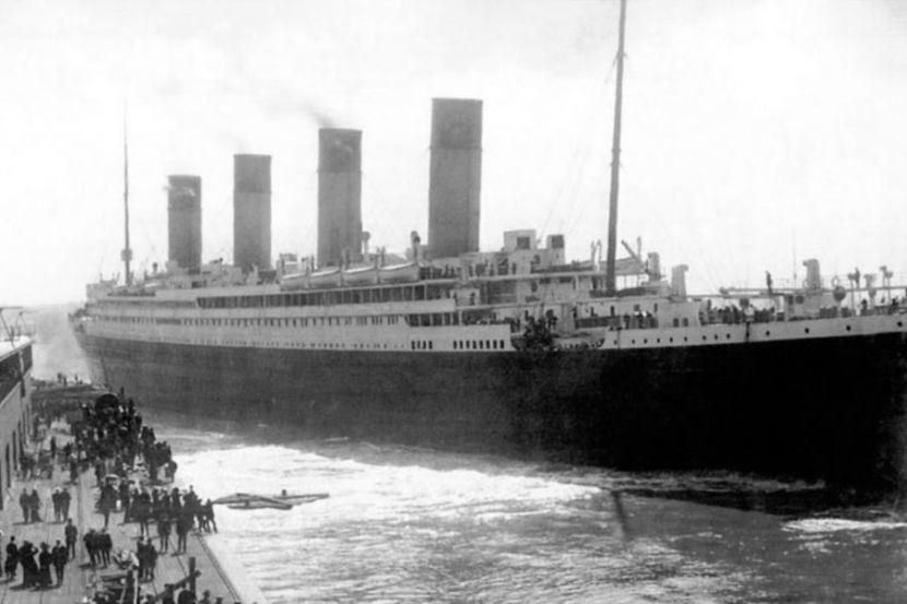 """В США дали разрешение поднять с затонувшего парохода """"Титаник"""" телеграф"""
