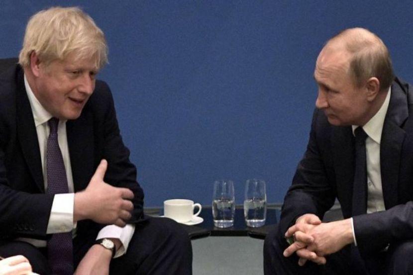 Джонсон и Путин встретятся на саммите по вакцине от коронавируса