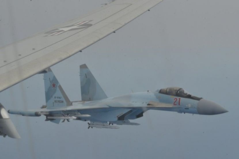 US Military Showed Videos of Interception of Their Aircraft by Russian Fighters