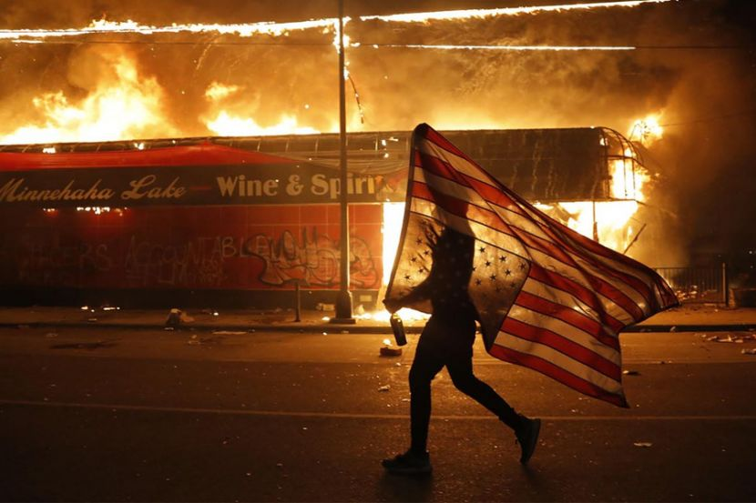 Russia Has Been Watching the U.S. Riots