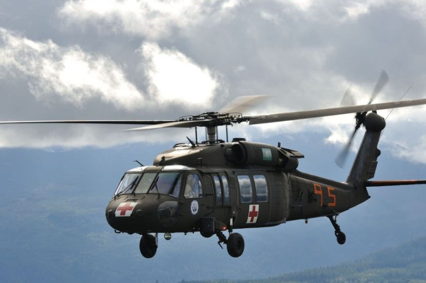 Military Helicopters Were Used to Disperse Protesters in Washington