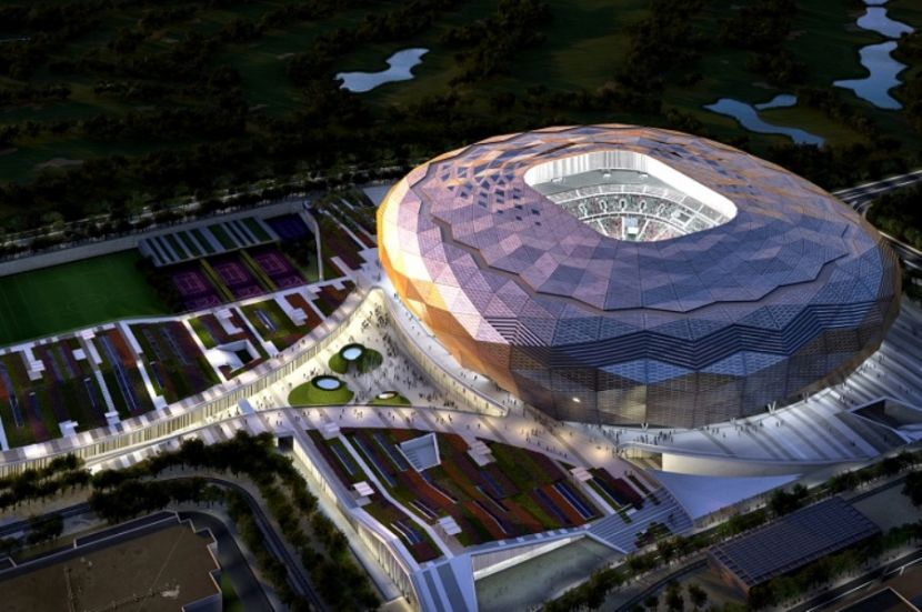 The Construction of the Third Stadium for the Football World Cup 2022 Is Completed in Qatar