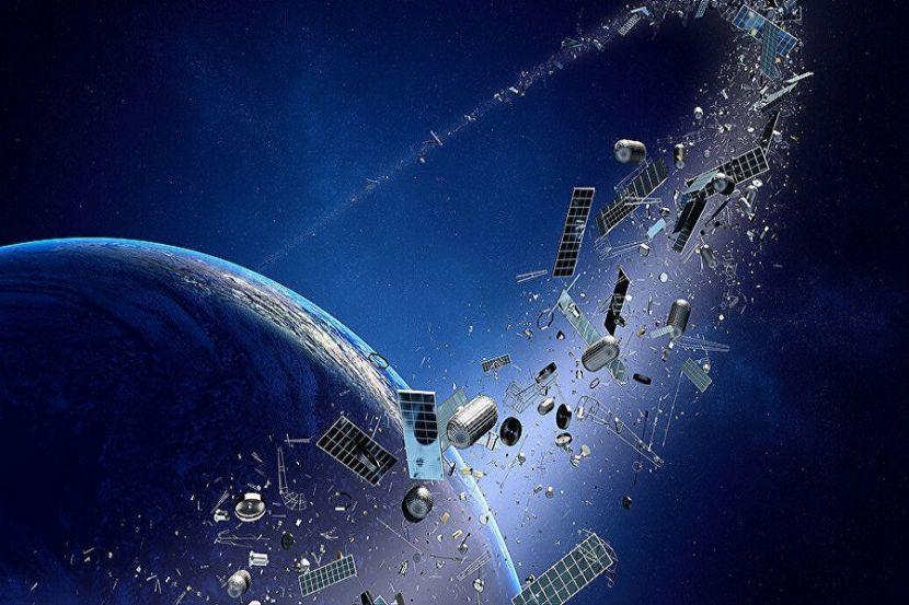 Япония начала разработку спутника для уничтожения космического мусора