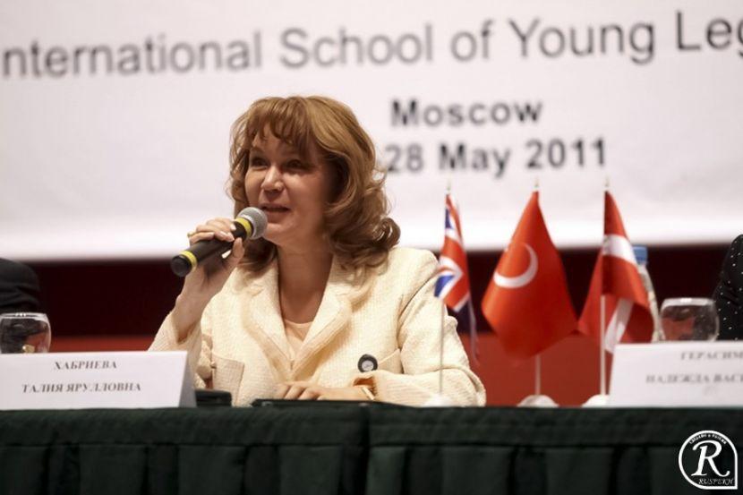 Соавтору поправок в Конституцию Талии Хабриевой присвоено звание «Заслуженный деятель науки»