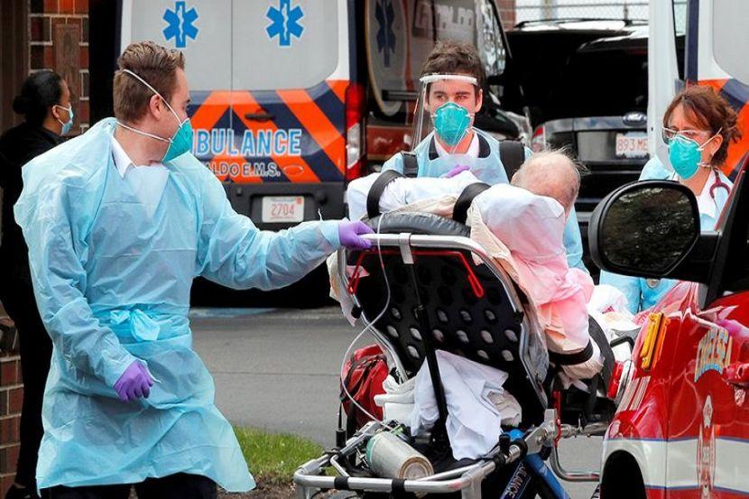 В США число заболевших COVID-19 превысило 2 млн человек