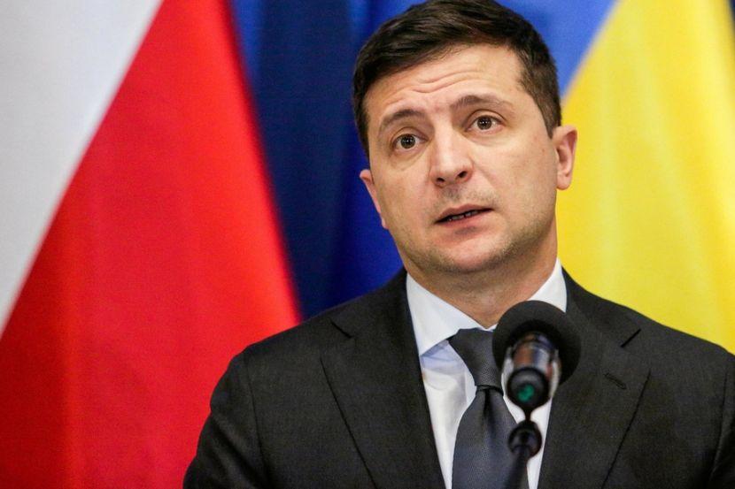 Жители Украины потребовали отставки Зеленского