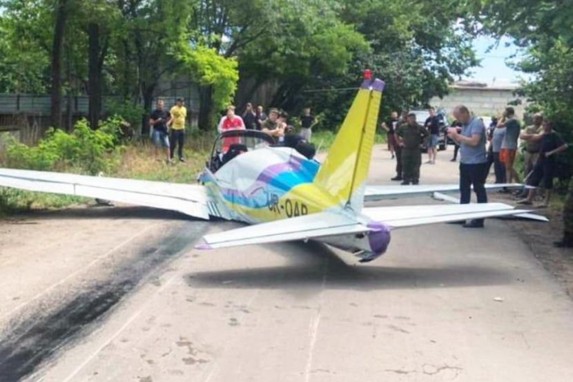 A Light Aircraft Crashed in Odessa