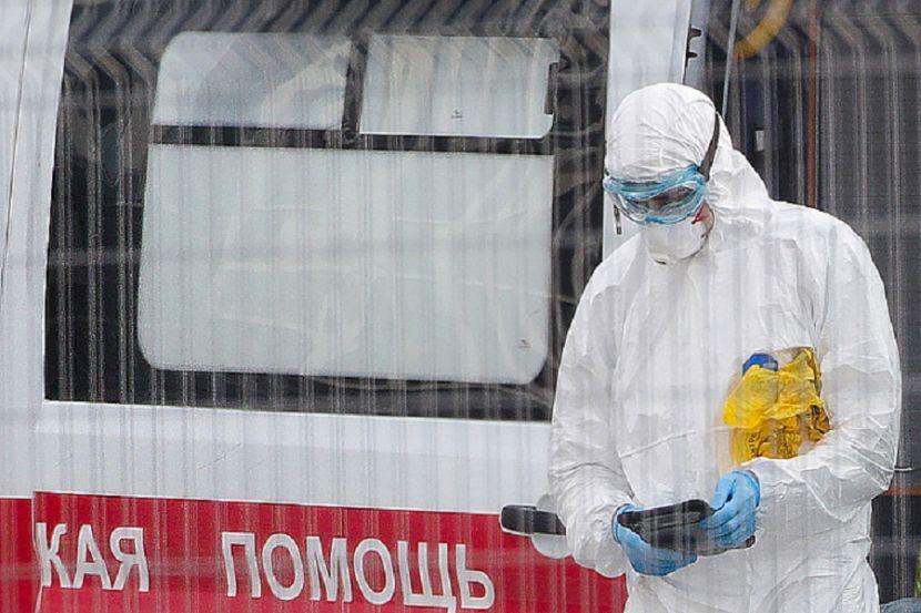 В России за сутки выявили менее 8 тысяч случаев COVID-19
