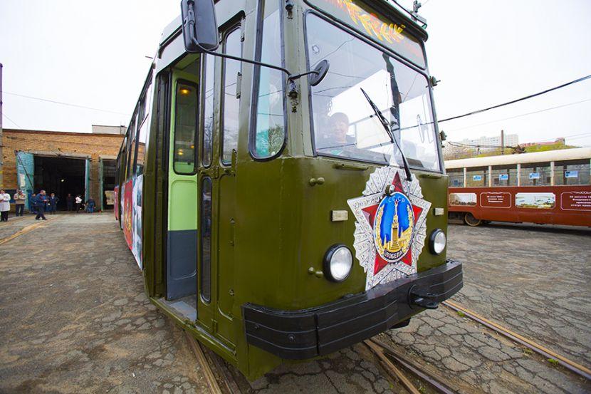 В среду в Санкт-Петербурге будут ходить трамваи военных лет