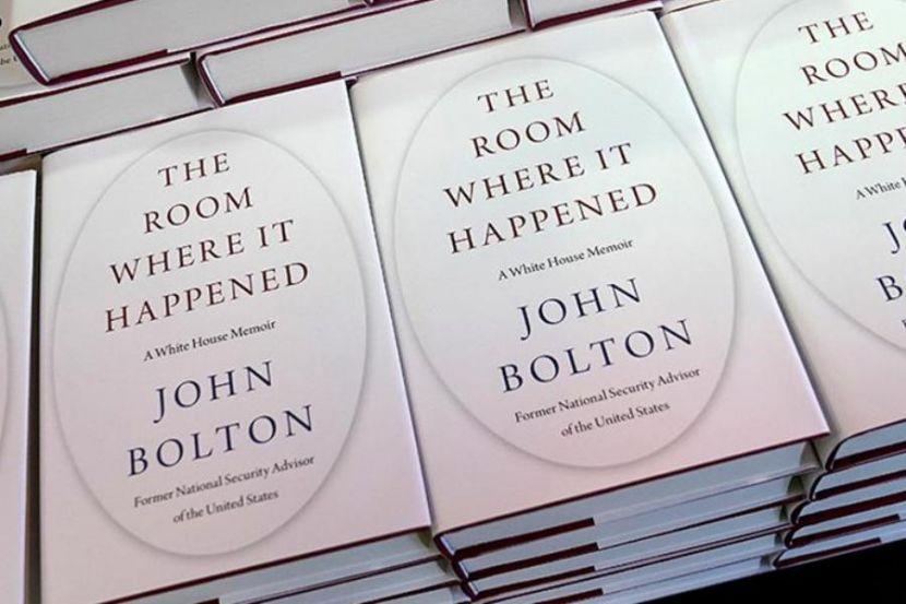 Trump Urged to Send Bolton to Jail