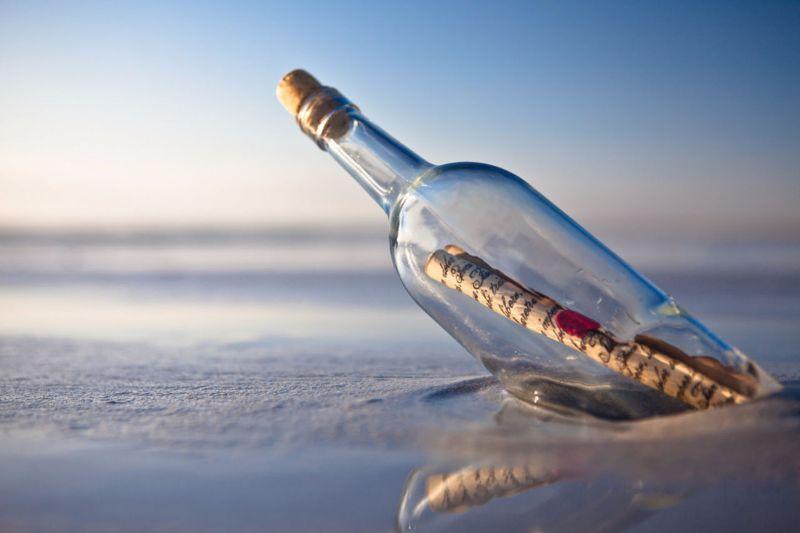 Во время самоизоляции брошенная в океан бутылка с письмом подружила двух школьниц
