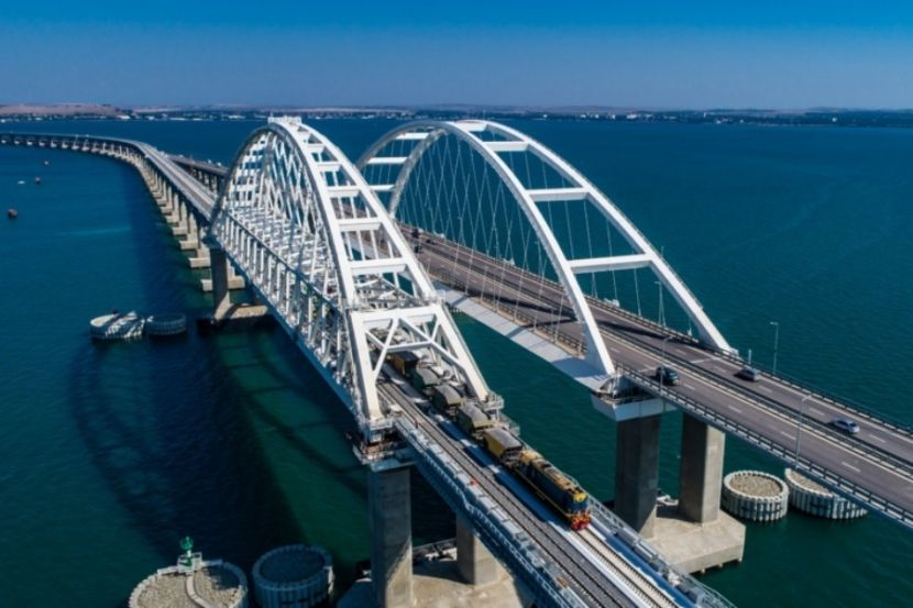 Railway Freight Traffic Was Launched on the Crimean Bridge