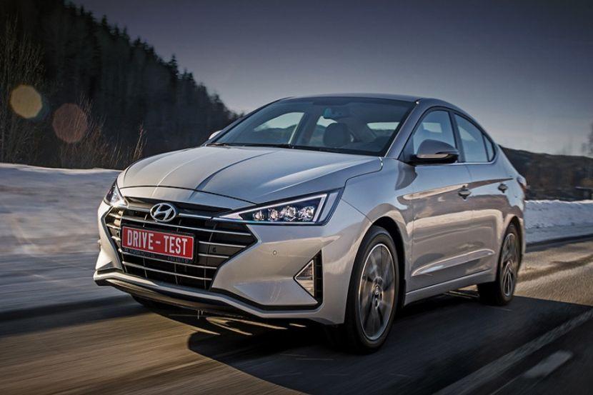 Hyundai отзывает в России почти 50 тысяч машин Elantra