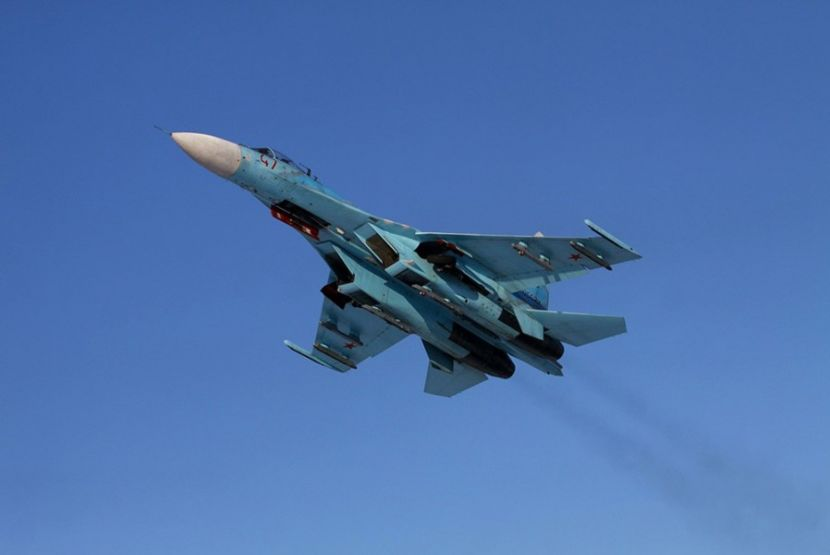 Russian Fighters Intercepted an American Airplane over the Black Sea