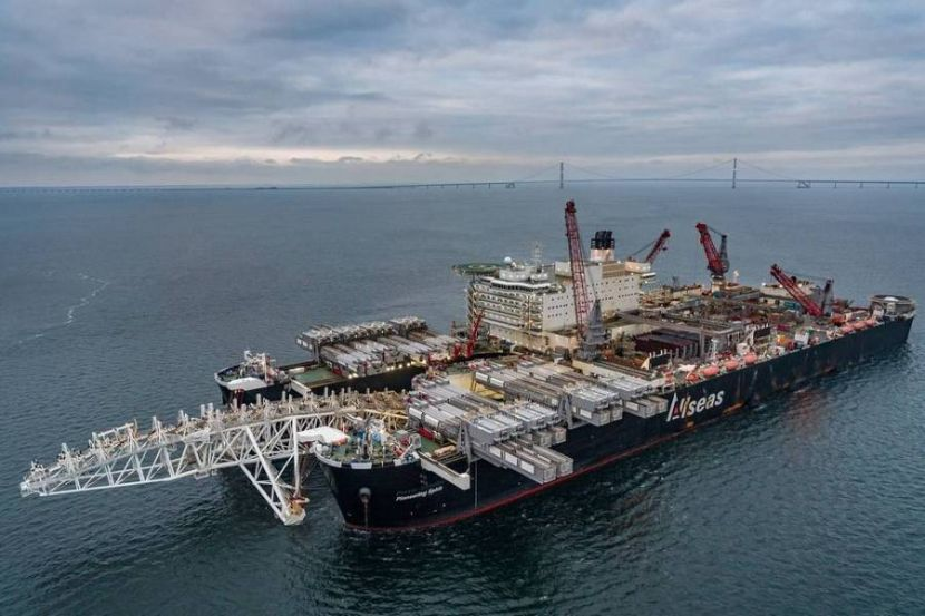 Denmark Allowed to Use Vessels with Anchor Positioning for Building Nord Stream 2