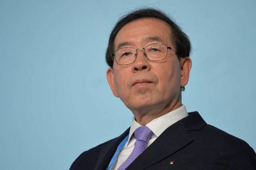 Media Report of the Death of Seoul Mayor