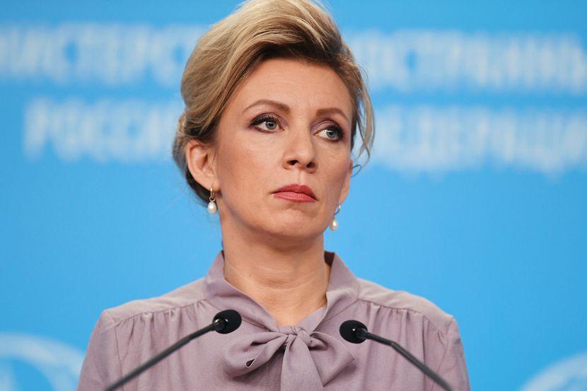 """Захарова заявила, что американские санкции в отношении """"Северного потока-2"""" являются показателем слабости США"""