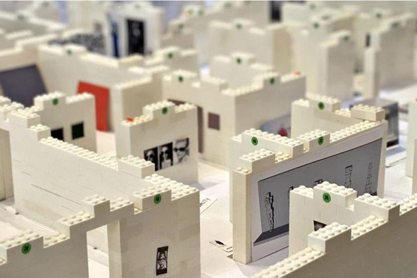 В Германии сделали миниатюрную модель Третьяковской галереи из кубиков LEGO