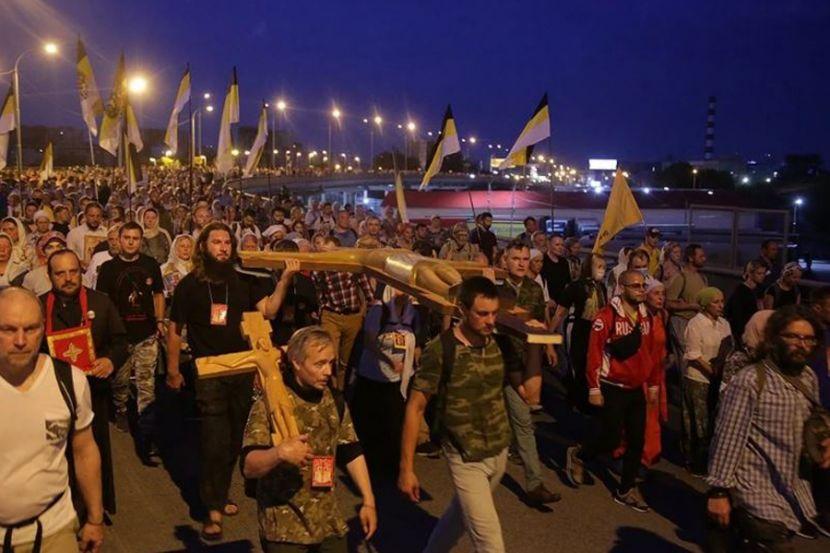 В Екатеринбурге прошёл крёстный ход памяти семьи Романовых