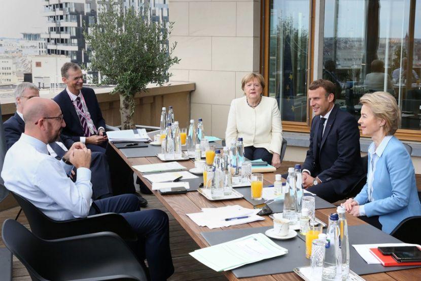 EU Leaders Agreed on an Economic Aid Plan 750 Billion Euros Worth