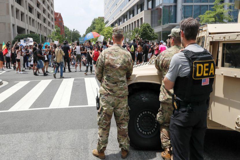 Майор Национальной Гвардии США: меры по разгону протестующих оказались чрезмерно жестоки