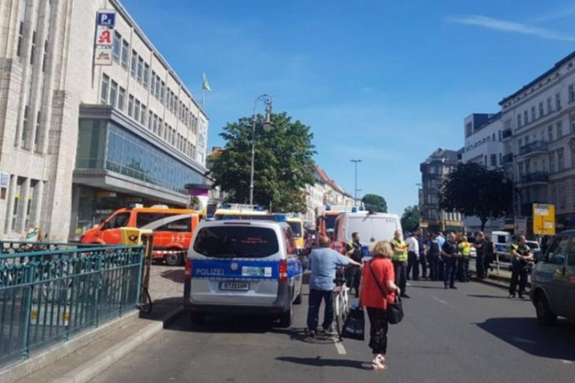 A Shopping Center in Berlin Was Attacked by Unidentified Criminals