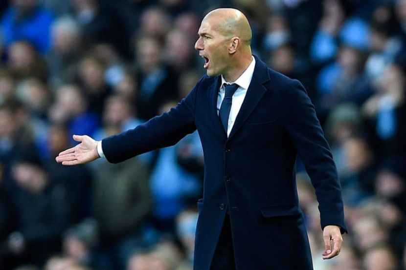 L'Equipe Named Zidane a Best Coach in the World