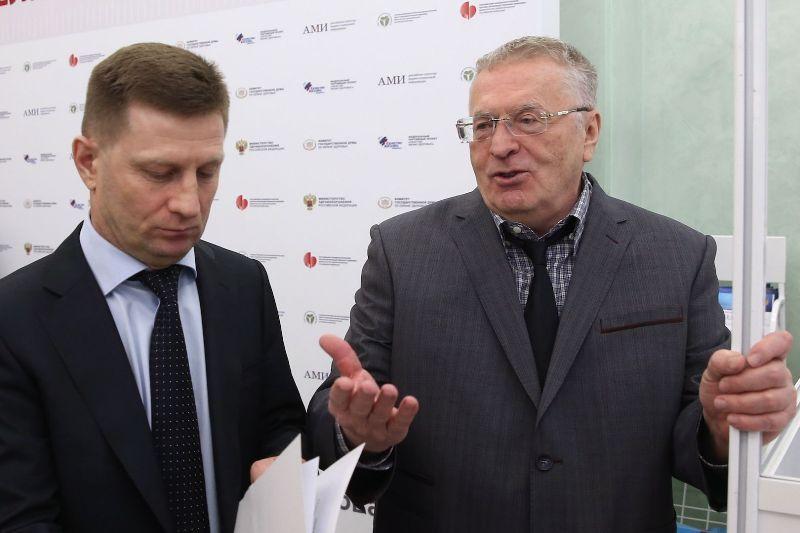 Жириновский заявил, что партия наймёт Фургалу новых адвокатов