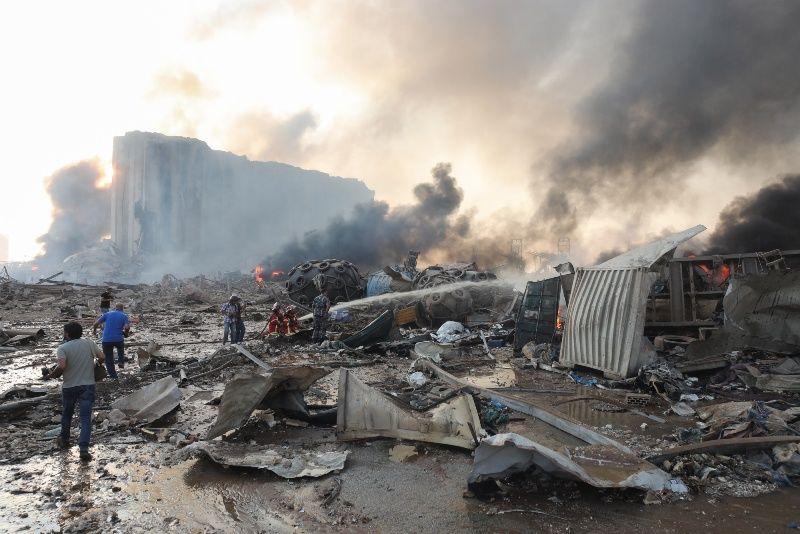 При взрыве в Бейруте пострадало здание посольства России