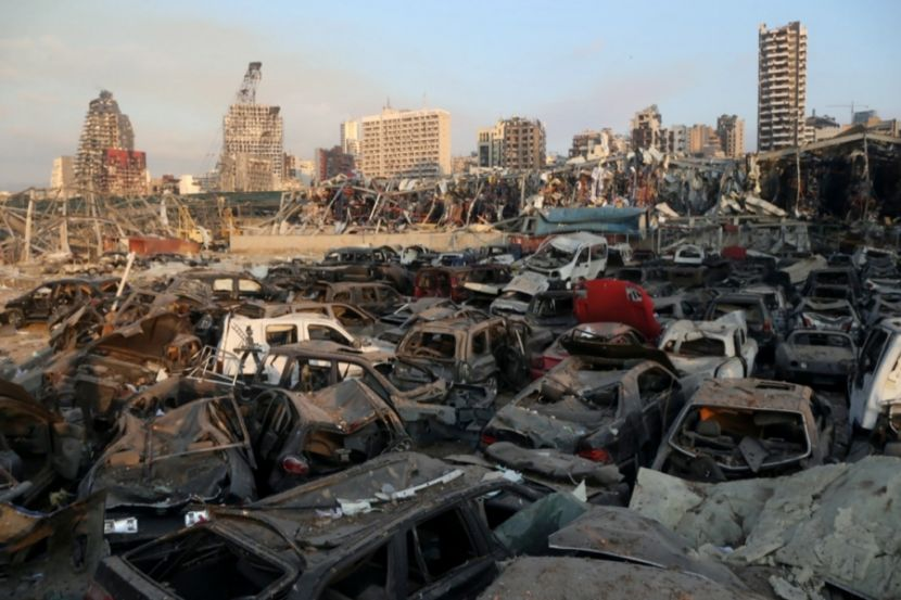 Governor Estimated the Damage from the Explosion in Beirut at 3–5 Billion Dollars