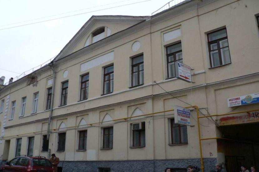 В Москве пострадал объект культурного наследия
