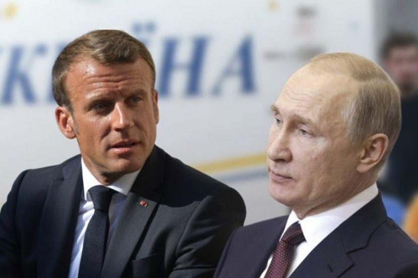 Президенты России и Франции поговорили на тему сотрудничества в борьбе с коронавирусом