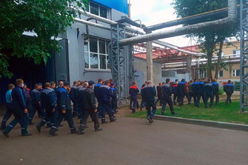 Сотрудники Белорусского автомобильного завода присоединились к забастовке